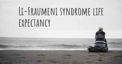 Li-Fraumeni syndrome life expectancy