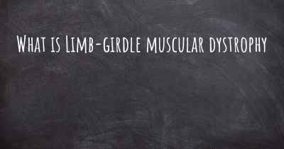 What is Limb-girdle muscular dystrophy