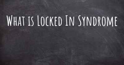 What is Locked In Syndrome