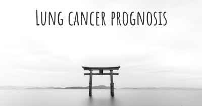 Lung cancer prognosis