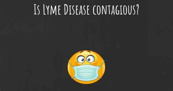 Can lyme disease be sexually transmitted pics 54