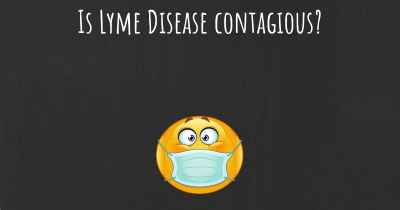 Is Lyme Disease contagious?