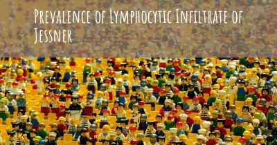 Prevalence of Lymphocytic Infiltrate of Jessner