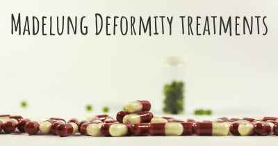 Madelung Deformity treatments