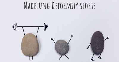 Madelung Deformity sports