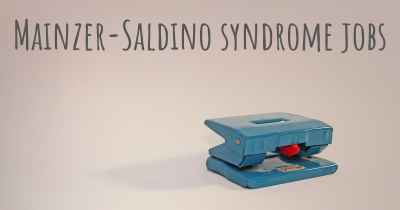 Mainzer-Saldino syndrome jobs