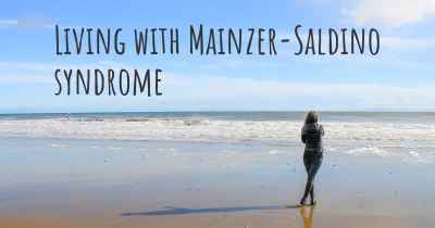Living with Mainzer-Saldino syndrome