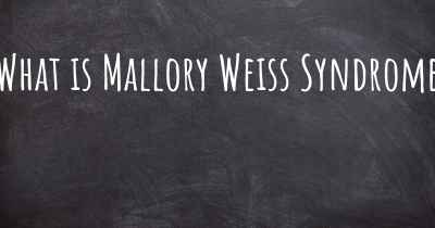 What is Mallory Weiss Syndrome