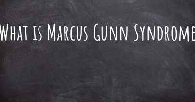 What is Marcus Gunn Syndrome