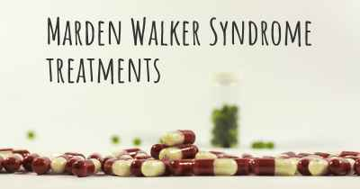 Marden Walker Syndrome treatments
