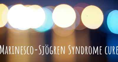 Marinesco-Sjögren Syndrome cure