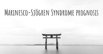 Marinesco-Sjögren Syndrome prognosis