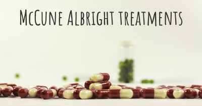 McCune Albright treatments