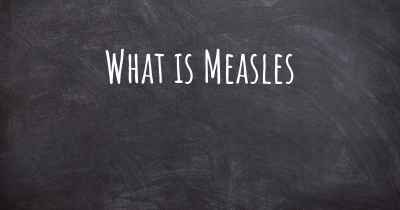 What is Measles