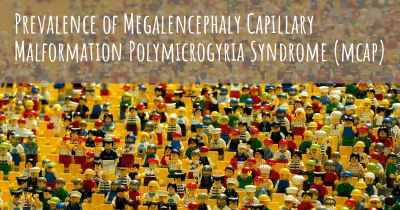 Prevalence of Megalencephaly Capillary Malformation Polymicrogyria Syndrome (mcap)