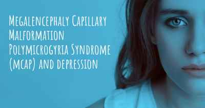 Megalencephaly Capillary Malformation Polymicrogyria Syndrome (mcap) and depression