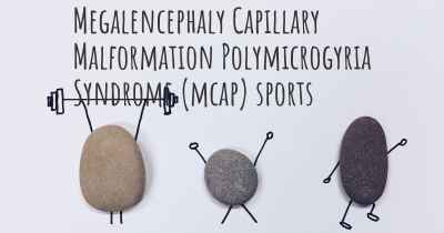 Megalencephaly Capillary Malformation Polymicrogyria Syndrome (mcap) sports