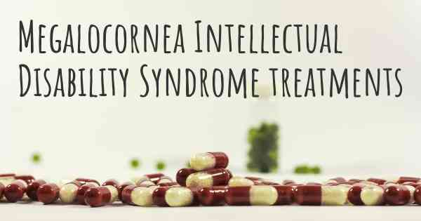 Megalocornea Intellectual Disability Syndrome treatments
