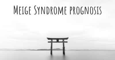 Meige Syndrome prognosis