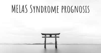 MELAS Syndrome prognosis