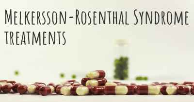 Melkersson-Rosenthal Syndrome treatments