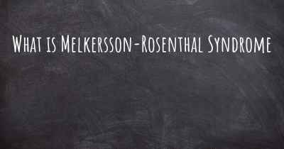 What is Melkersson-Rosenthal Syndrome