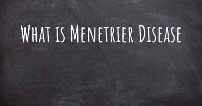 What is Menetrier Disease