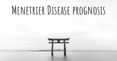 Menetrier Disease prognosis