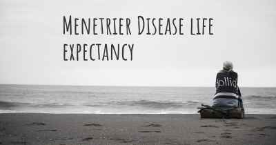 Menetrier Disease life expectancy