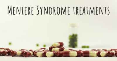 Meniere Syndrome treatments