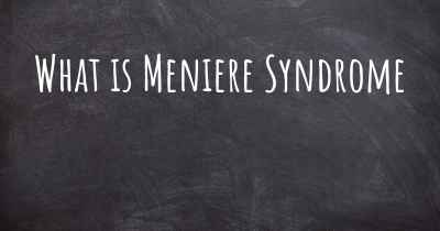 What is Meniere Syndrome