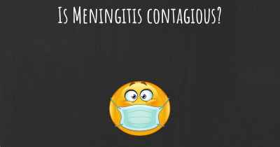 Is Meningitis contagious?