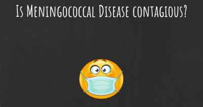 Is Meningococcal Disease contagious?