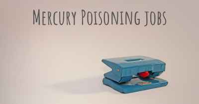 Mercury Poisoning jobs