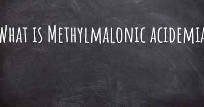 What is Methylmalonic acidemia