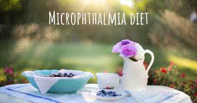 Microphthalmia diet
