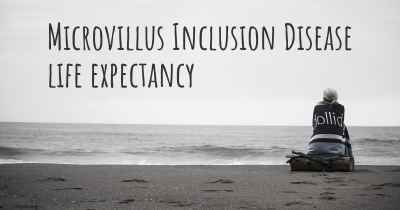 Microvillus Inclusion Disease life expectancy