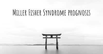 Miller Fisher Syndrome prognosis