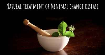 Natural treatment of Minimal change disease