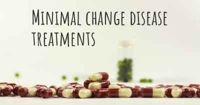 Minimal change disease treatments