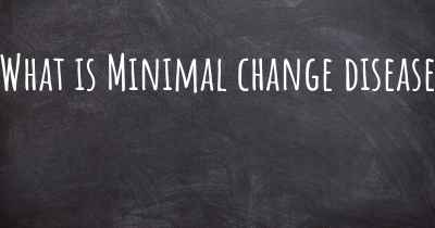What is Minimal change disease