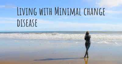 Living with Minimal change disease