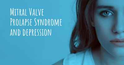 Mitral Valve Prolapse Syndrome and depression