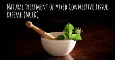 Natural treatment of Mixed Connective Tissue Disease (MCTD)
