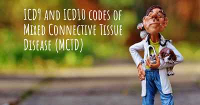 ICD9 and ICD10 codes of Mixed Connective Tissue Disease (MCTD)