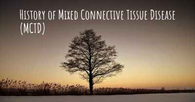 History of Mixed Connective Tissue Disease (MCTD)