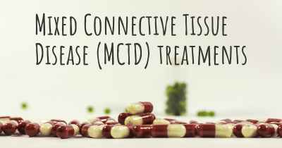 Mixed Connective Tissue Disease (MCTD) treatments