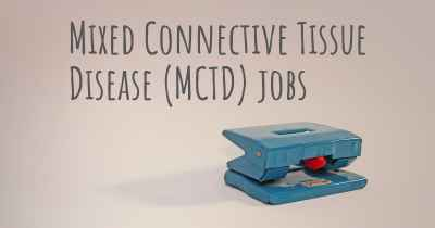 Mixed Connective Tissue Disease (MCTD) jobs