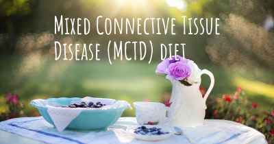 Mixed Connective Tissue Disease (MCTD) diet