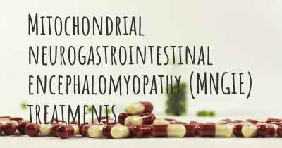 Mitochondrial neurogastrointestinal encephalomyopathy (MNGIE) treatments